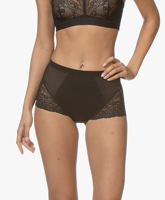 SPANX® Spotlight on Lace Slip - Very Black