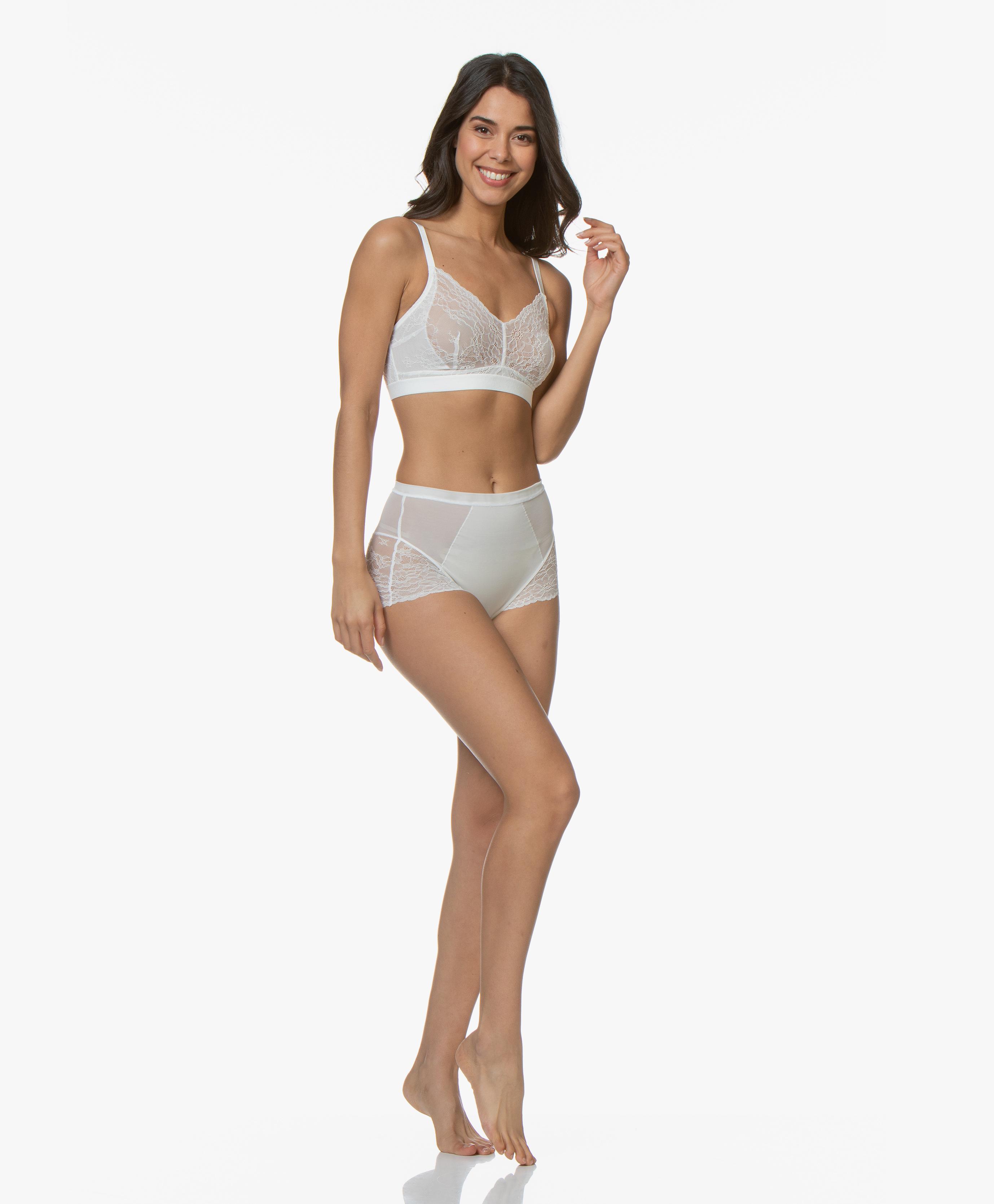 ec209238afa079 SPANX® Spotlight on Lace Bralette - Clean White - 10124r 1010 - clean