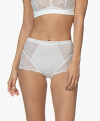 SPANX® Spotlight on Lace Brief - Clean White