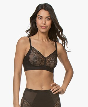 SPANX® Spotlight on Lace Bralette - Very Black