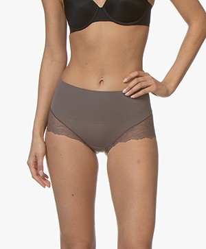 SPANX® Undie-tectable Lace Hi-Hipster - Umber Ash