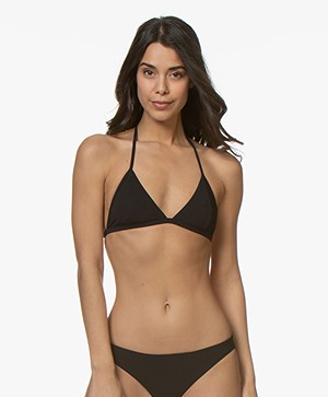 Filippa K Soft Sport Triangle Bikini Top - Black