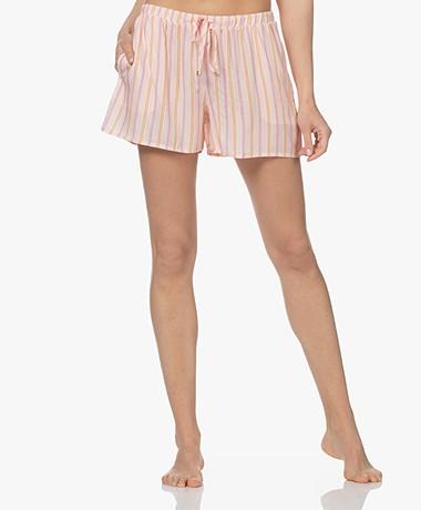 HANRO Sleep & Lounge Printed Pyjamashort - Jolly Stripe