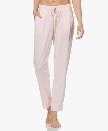 HANRO Sleep & Lounge Jersey Broek - Apricot Blush