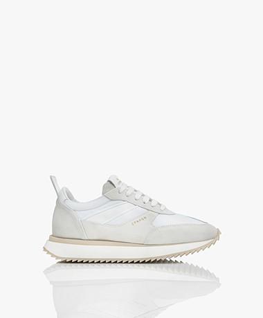Copenhagen Studios Leren Chunky Sneakers - Wit