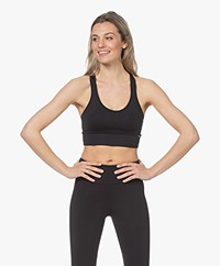 Deblon Sports Zoe Ring Bra Top - Black