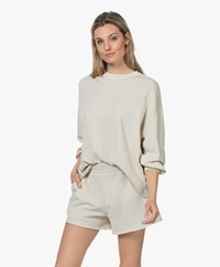 Rails Reeves French Terry Sweatshirt - Pumice