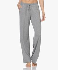 HANRO Natural Elegance Jersey Lounge Pants - Grey Melange