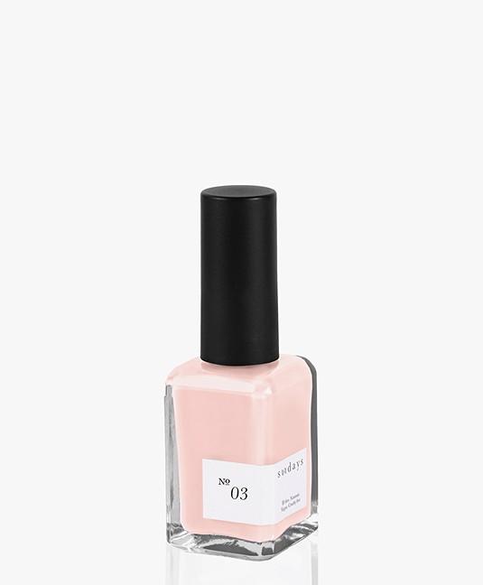 Sundays Opaque Nr. 03 Nagellak - Cream Roze