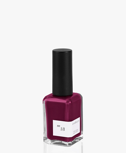 Sundays Opaque Nr. 18 Nagellak - Deep Plum