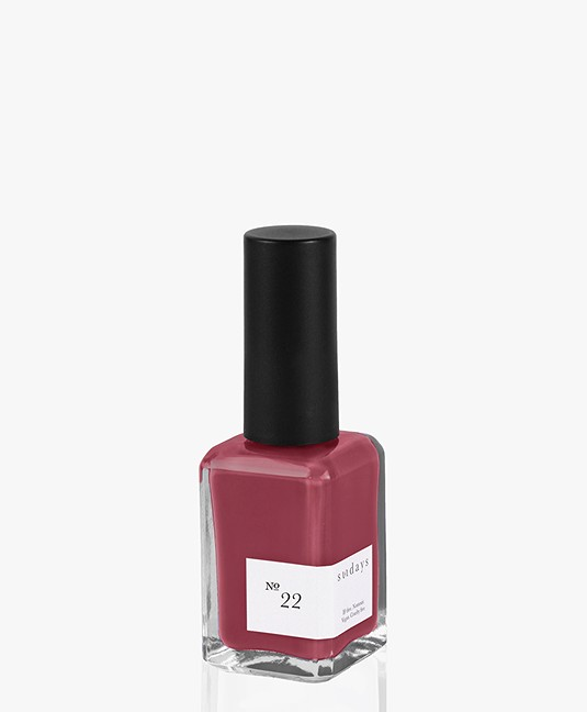 49ed0c70410 Sundays Opaque Nr. 22 Nail Polish - Purple Mulberry - opaque nail ...