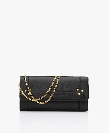 Jerome Dreyfuss Pif Wallet On A Chain Tas - Zwart/Vintage Goud