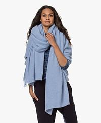 American Vintage Omobay XL Sjaal - Sky Blue