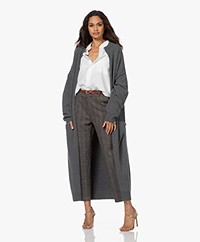 extreme cashmere N°186 Marina Cashmeremix Vest - Felt