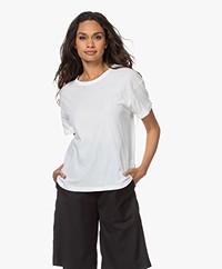 Drykorn Larima Cotton Jersey T-shirt - White