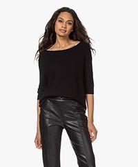 Wolford Viscool Naadloze Pullover - Zwart