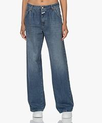 Closed Nolin Organic Cotton Straight Jeans - Dark Blue