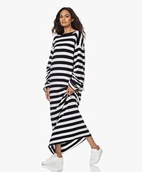 extreme cashmere N°192 Scoop Cashmeremix Jurk - Stripe