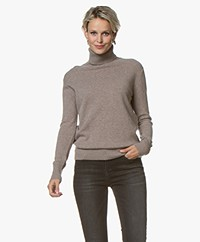 Filippa K Cashmere Roller Neck Sweater - Taupe