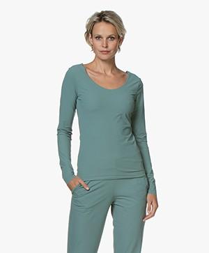 JapanTKY Tiyo Reversible Jersey Long Sleeve - Sage Brushgreen