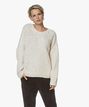 Drykorn Nolima Slub Knit Sweater - Ecru