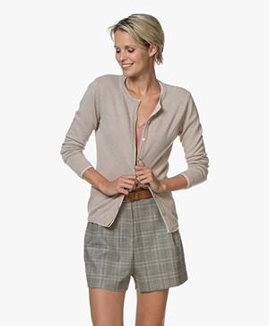 Belluna Goodmann Vest met Gelaagde Details - Beige/Lichtbeige