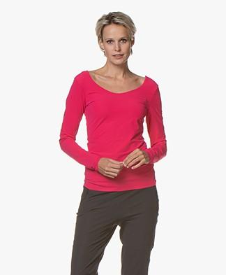 JapanTKY Tiyo Reversible Jersey Long Sleeve - Pink