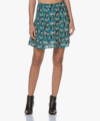 Marie Sixtine Alicia Printed Mini Skirt - Camo