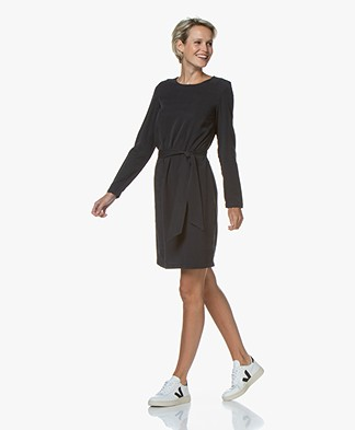 Josephine & Co Galina Tencel Twill Dress - Navy