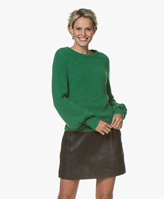 by-bar Altea Alpaca Mix Sweater - Clover