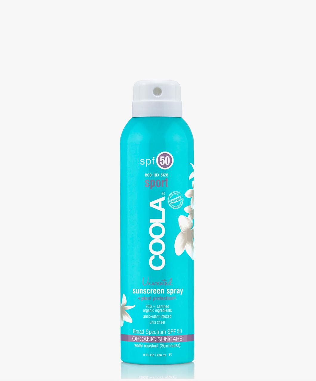 Afbeelding van COOLA Travel Spray SPF 50 Unscented