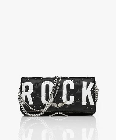 Zadig & Voltaire Rock Quilted Shoulder Bag/Clutch - Black