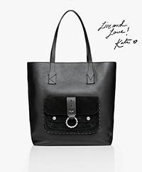 Zadig & Voltaire Kate Leather Shopper - Black