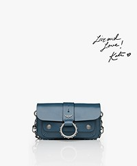 Zadig & Voltaire Kate Wallet Cross-body Bag/Clutch - Blue