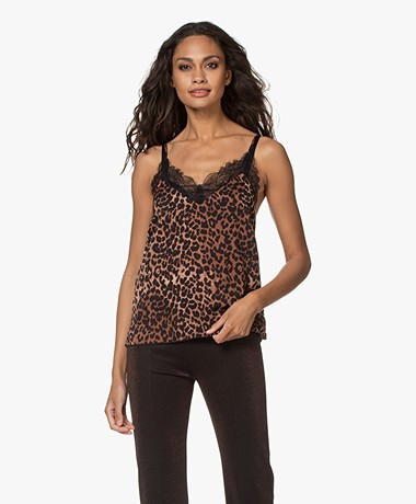 Love Stories Camelia Leopard Camisole - Leopard