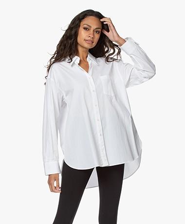 Filippa K Sammy Puur Katoenen Overhemd - Wit