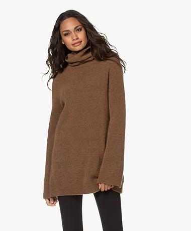 Filippa K Nico Yak Sweater - Hazelnut