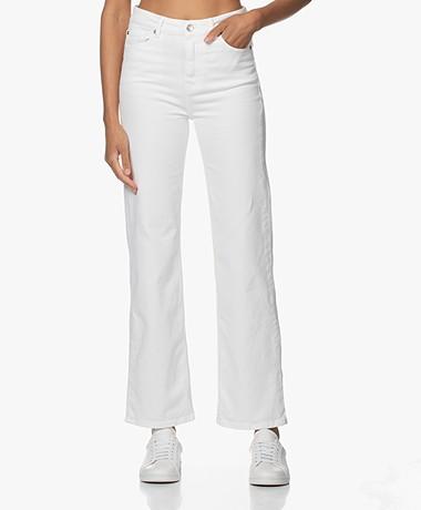 IRO Tana High-rise Straight Jeans - Off-white