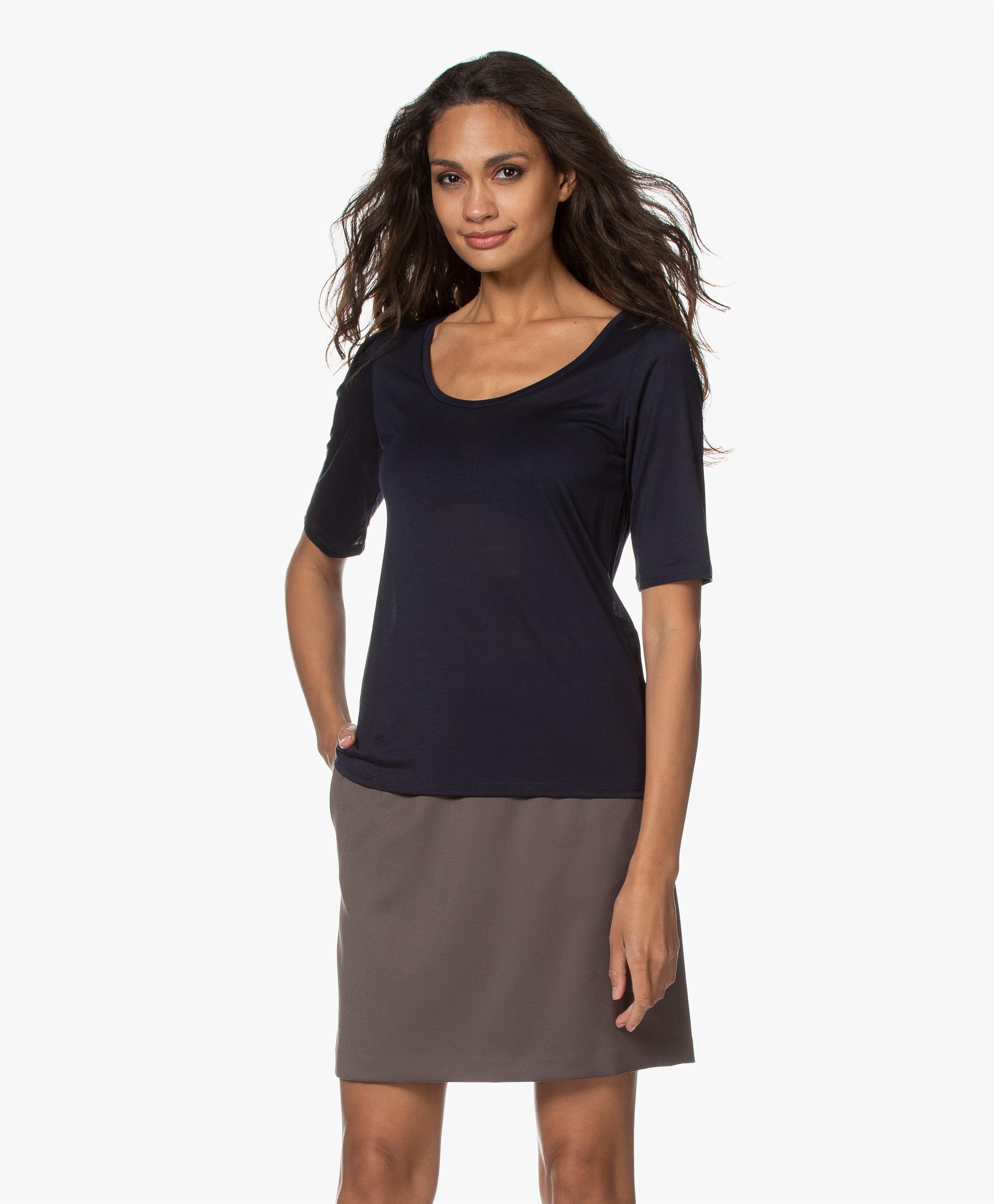 filippa k tencel tunic dress