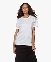 Joseph Cotton Short Sleeve T-shirt - White