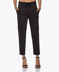 Drykorn Level Stretch Cotton Pants - Black