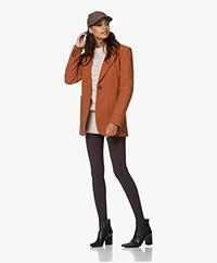Vanessa Bruno Pratt Wool Blend Blazer - Cinnamon