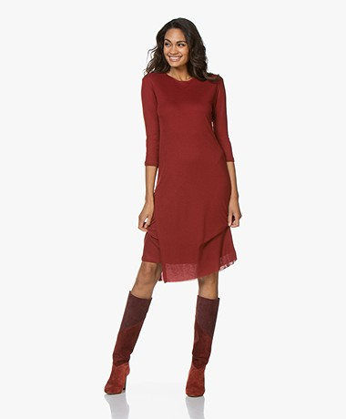 Filippa K Liana Jersey Dress - Pure Red