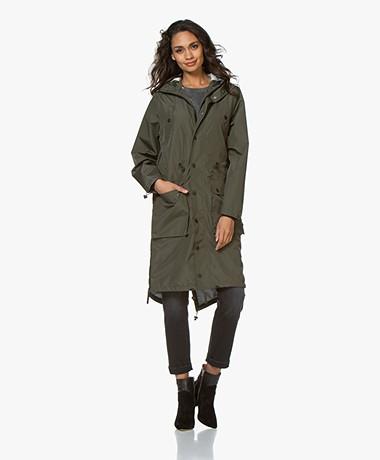 Maium 2-in-1 Parka Lightweight Raincoat - Army