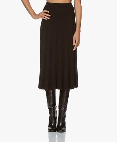 Filippa K Ruby Knitted Rok - Zwart