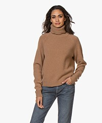 Filippa K Kathleen Turtleneck Sweater - Camel