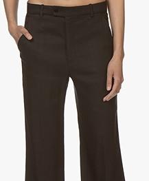 Joseph Tropez Linen Blend Pants - Black