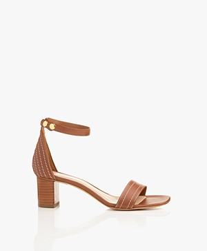 Filippa K Belinda Mid Heel Sandals - Amber