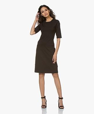 Filippa K Front Pocket Shift Dress - Black