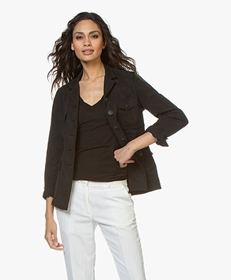 Rag & Bone Gambles Cargo Jacket - Black